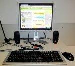 komputer w pogotowiu komputerowym w gadańsku