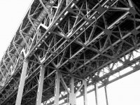 Przykład konstrukcji stalowej   pomnik Schiffshebewerk Niederfinow